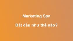 Marketing - Bắt đầu như thế nào?